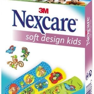 3M Nexcare Pleisters Soft Design Kids - Janhofman.nl - 1
