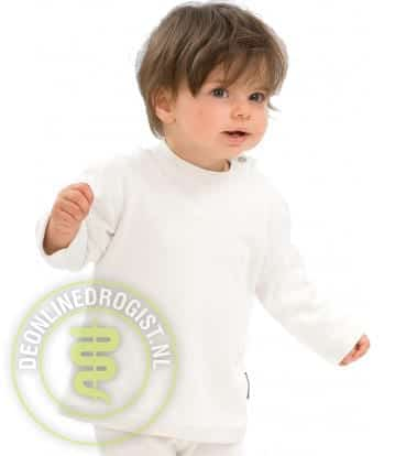 Best4body Verbandshirt Kind Lange Mouwen Wit Maat 92 - Janhofman.nl - 1